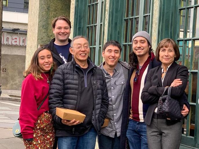 Richard Ohashi with his family