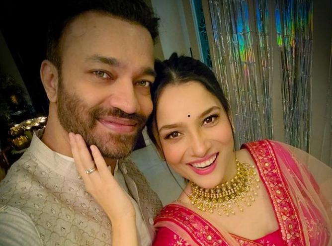 Vicky and Ankita