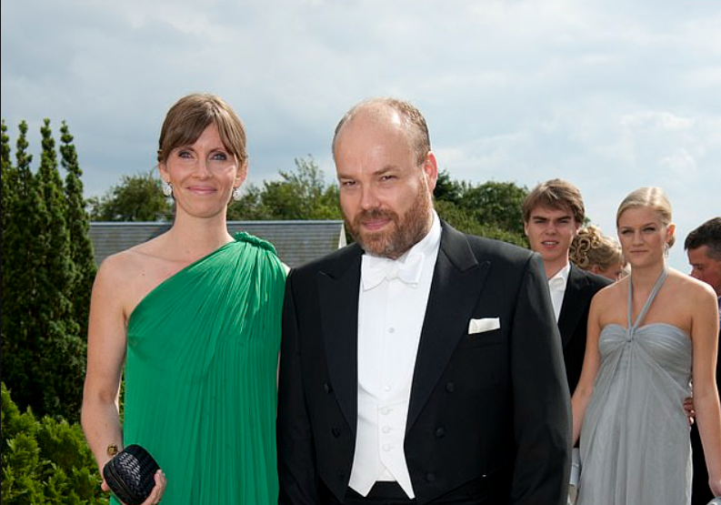 Anders Holch Povlsen and Anne