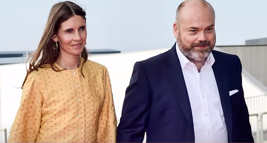 Anders Holch Povlsen and wife Anne