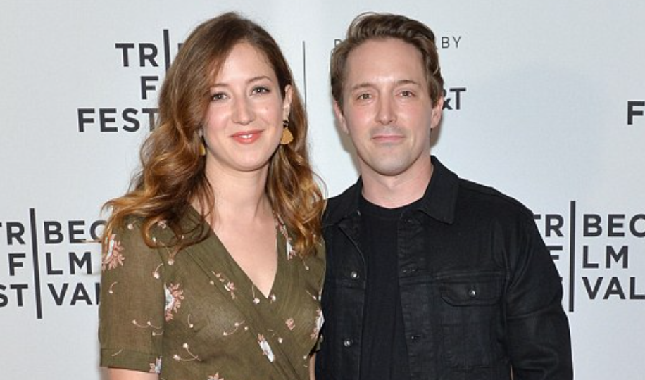 Beck Bennett and wife Jessy Hodges