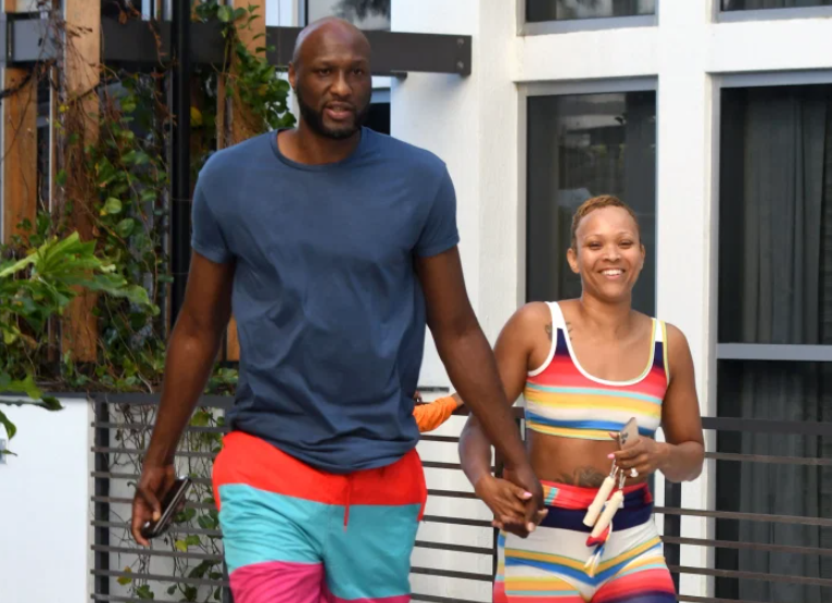 Sabrina Parr and ex-fiance Lamar Odom