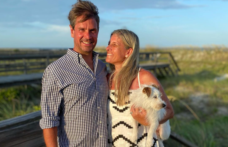 Griffin Jenkins and wife